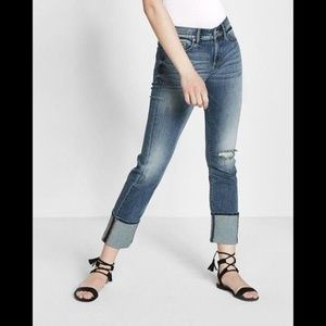Express Precision Fit Cropped Skinny Jeans 00